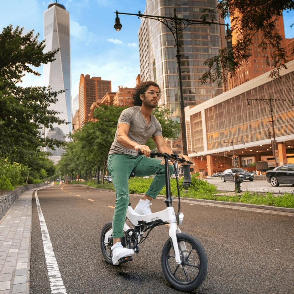 Fold-able and affordable electric bike makes it convenient to carry anywhere