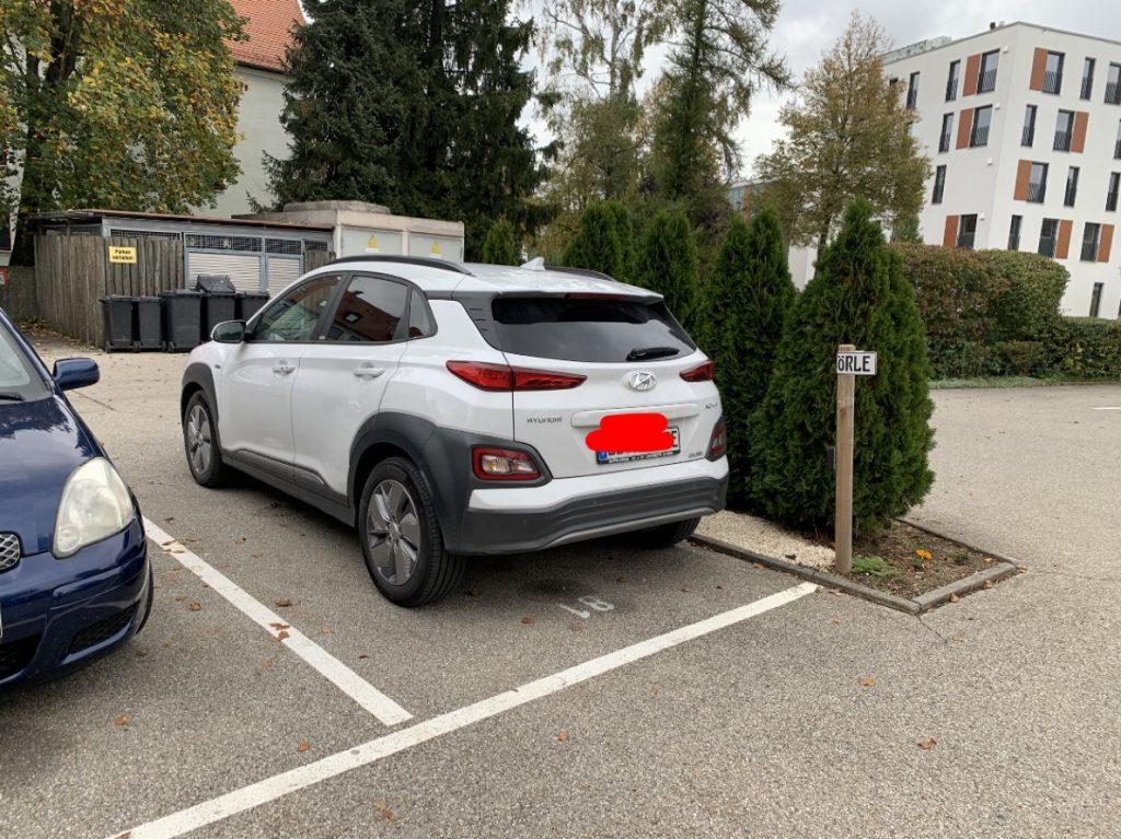 Hyundai Kona EV back